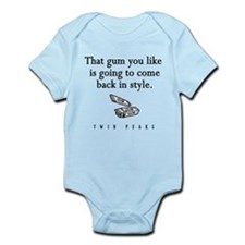 That Gum You Like Twin Peaks Quote Infant Bodysuit