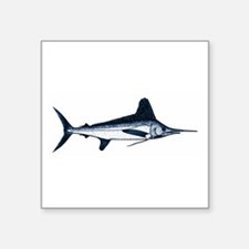White Marlin Logo Sticker