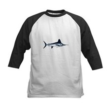 White Marlin Logo Baseball Jersey
