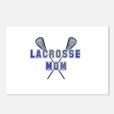 Lacrosse Mom Postcards (Package of 8)