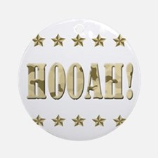 Hooah! Ornament (Round)