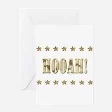 Hooah! Greeting Card