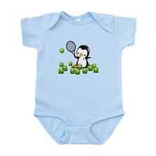 Tennis Penguin Infant Bodysuit