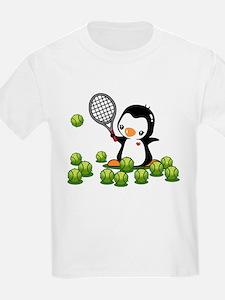 Tennis Penguin T-Shirt