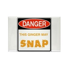 Redhead Rectangle Magnet