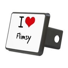 I Love Flimsy Hitch Cover