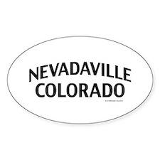 Nevadaville Colorado Decal