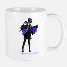 Carnivale Candy Purple Jester Mugs