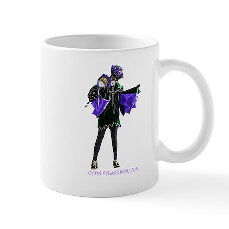 Carnivale Candy Purple Jester Mugs