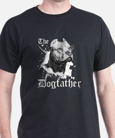 The Pit Bull Dog Father T-Shirt