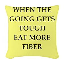 fiber Woven Throw Pillow