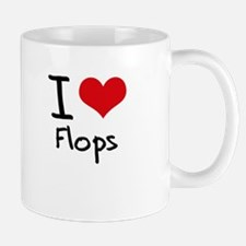I Love Flops Mug