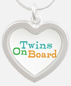 Twins On Board Necklaces