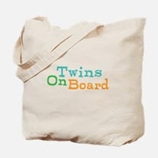 Twins On Board Tote Bag