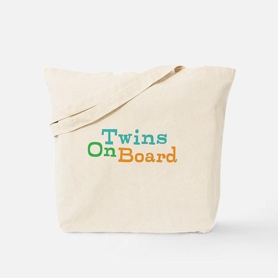 Twins On Board Tote Bag