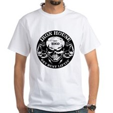 Iron House Muscle Skull T-Shirt