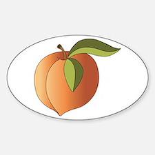 Peach Decal