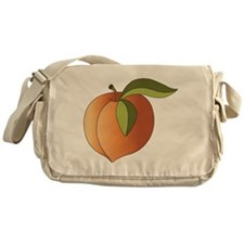 Peach Messenger Bag
