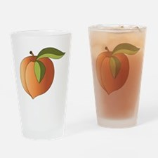 Peach Drinking Glass