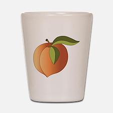 Peach Shot Glass