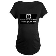 room for all mashed potatoes Maternity T-Shirt