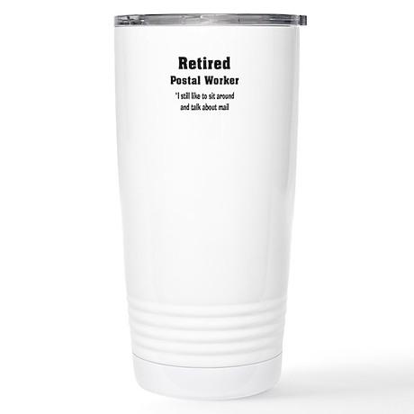 Retired Postal Worker Stainless Steel Travel Mug