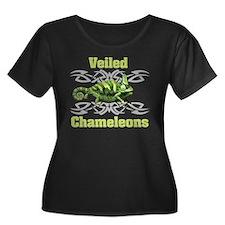 Veiled Chameleon Plus Size T-Shirt