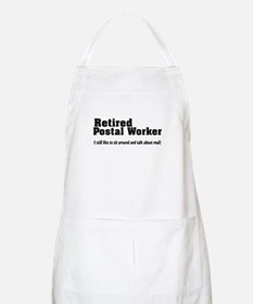 Retired Postal Worker Apron