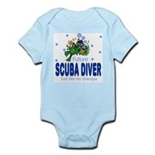 Future Scuba Diver like Grandpa Body Suit
