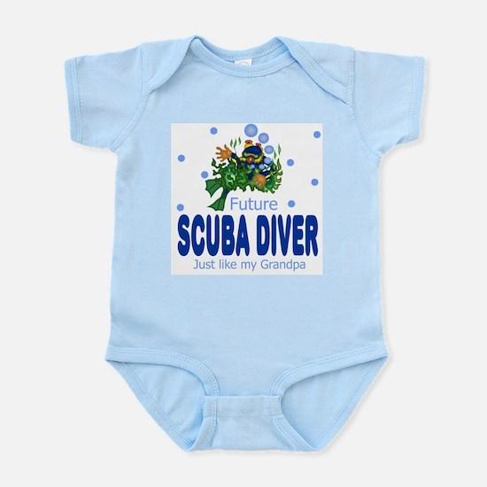 Future Scuba Diver like Grandpa Body Suit