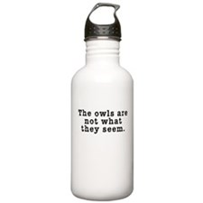 Classic Owls Riddle - Twin Peaks Water Bottle