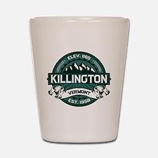"""Killington """"Vermont Green"""" Shot Glass"""
