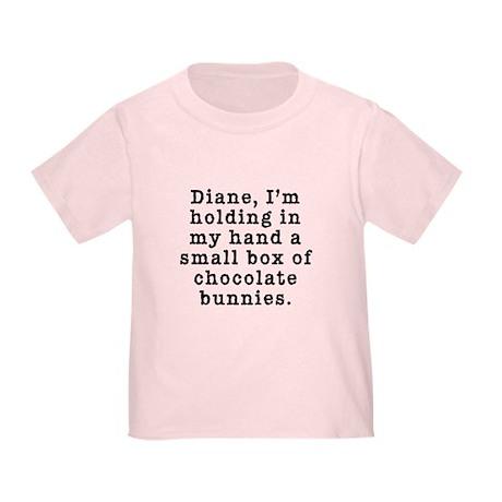 Twin Peaks Chocolate Bunnies Toddler T-Shirt