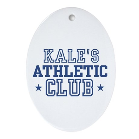 Kale Oval Ornament