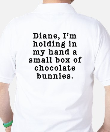 Twin Peaks Chocolate Bunnies Golf Shirt