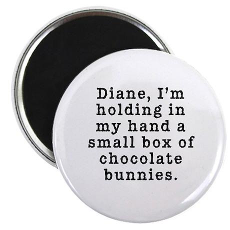 Twin Peaks Chocolate Bunnies Magnet