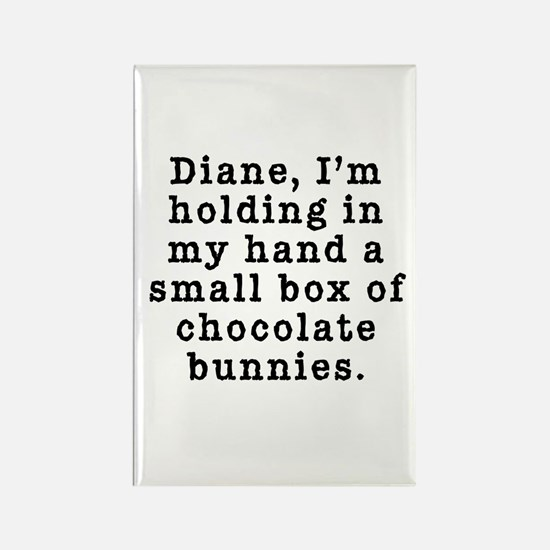 Twin Peaks Chocolate Bunnies Rectangle Magnet