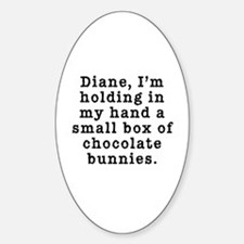 Twin Peaks Chocolate Bunnies Decal