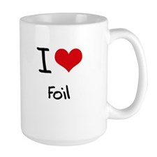 I Love Foil Mug