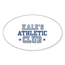 Kale Oval Decal