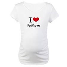 I Love Folklore Shirt