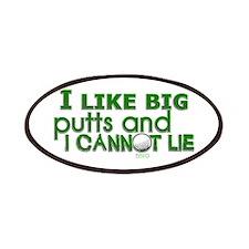 I Like Big Putts Patches
