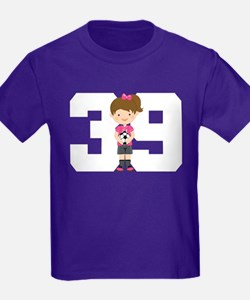 Soccer Sports Number 39 T