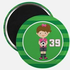 Soccer Sports Number 39 Magnet