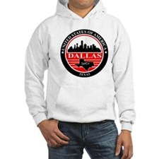 Dallas logo black and red Hoodie