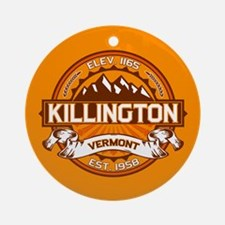 Killington Tangerine Ornament (Round)