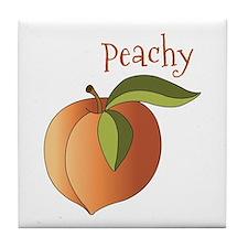 Peachy Tile Coaster
