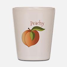 Peachy Shot Glass