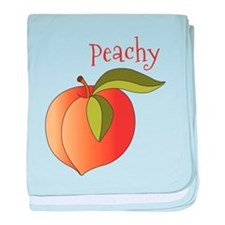 Peachy baby blanket