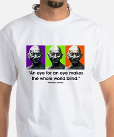 An eye for an eye... Ash Grey T-Shirt